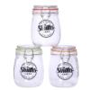 airtight glass jars