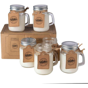 smith's mason jars candles