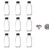 12x small bottles w funnel